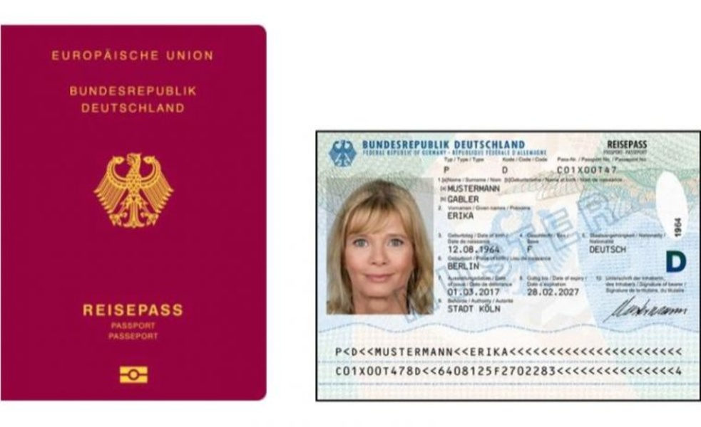 Geburtsurkunde Reisepass